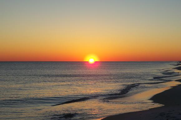 Navarre Beach Sunset 1.12.11