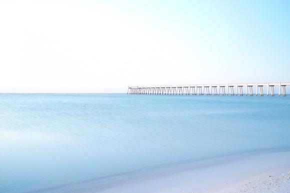 Sunrise at Navarre Beach Pier 1.13.11