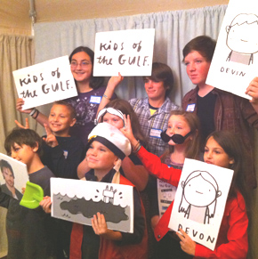 Kids of the Gulf Photo Booth