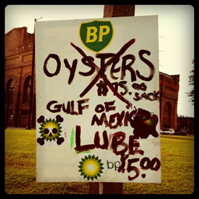 BP Oil Sign-New Orleans