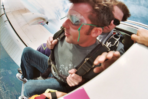 Brandon Sutton Skydiving